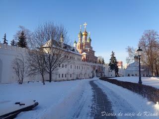 Rusia en invierno, 4 días en Moscú en diciembre de 2016