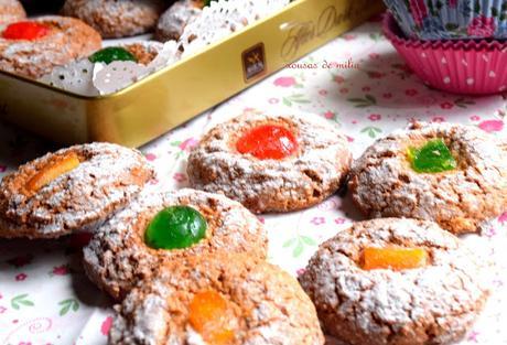 Galletas de almendra y naranja