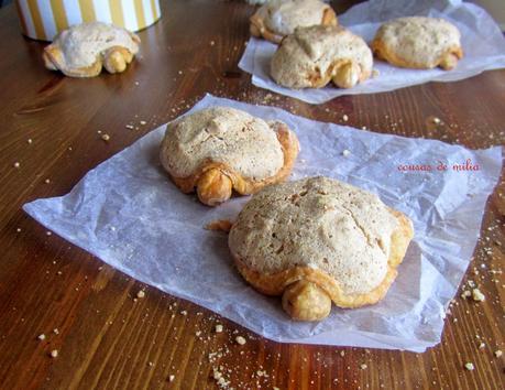 Tortuguitas de nueces y avellanas