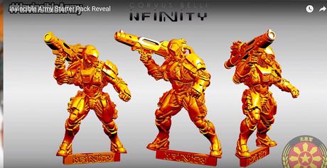 Revelado el Starter pack del Invincible Army de Yu-Jing