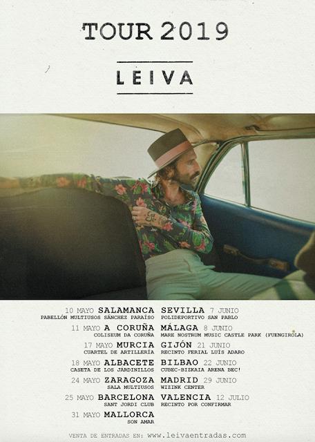 Leiva presenta el primer single de su próximo álbum y anuncia gira de presentación