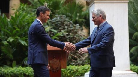 EEUU cree que viaje de Pedro Sánchez a Cuba no envía un mensaje positivo