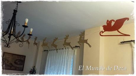 Guirnalda Trineo Santa Claus
