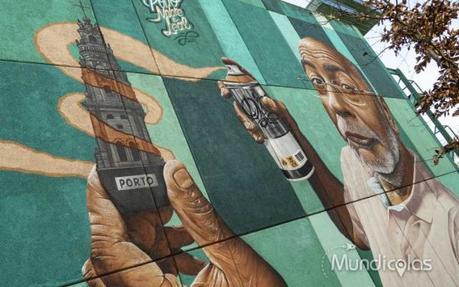 Arte urbano de Oporto