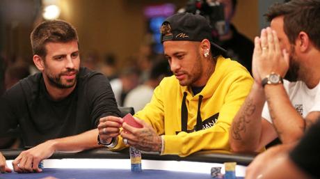 Los futbolistas también juegan en los casinos