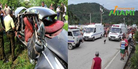 Impactante accidente en Cuba deja varios lesionados en grave estado de salud