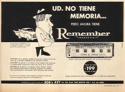 Remember, un aparato para recordar