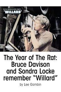 HOMENAJE: SONDRA LOCKE: (1945- 2018): 74 AÑOS