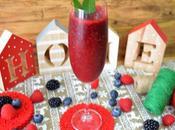 Sorbete frutos rojos (facil rapido)