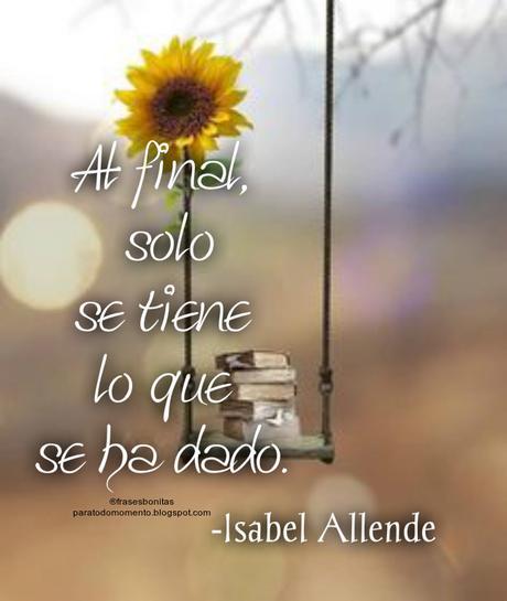 Frases de espíritu libre _ Isabel Allende