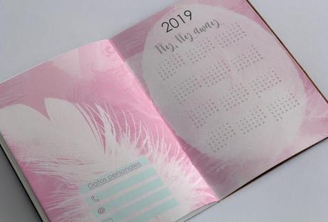 Recurso imprimible: Agenda perpetua 2019 y planificadores ¡Deja tus sueños volar!