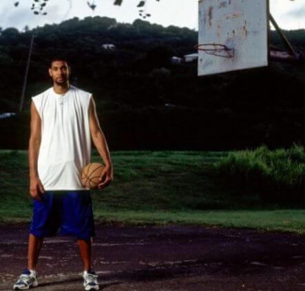 La curiosa llegada de Tim Duncan al baloncesto
