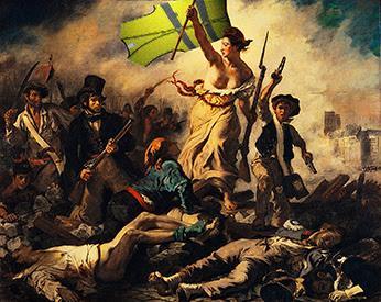 Francia: cambian las banderas