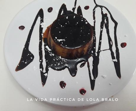 TOCINO DE CIELO CON SIROPE DE CHOCOLATE