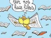 Leer hace libres...