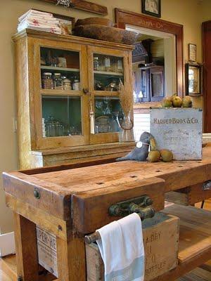 Mesas queseras para el estilo rustico paperblog for Mesa de carpintero