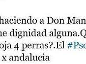 PSOE cachondea españoles Twitter. ¿Los EREs cuatro perras?