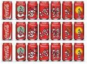 Pintando aniversario Coca Cola