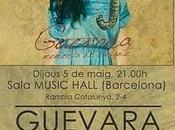 Guevara presenta disco Barcelona Madrid.