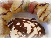 Brocheta fruta tempura