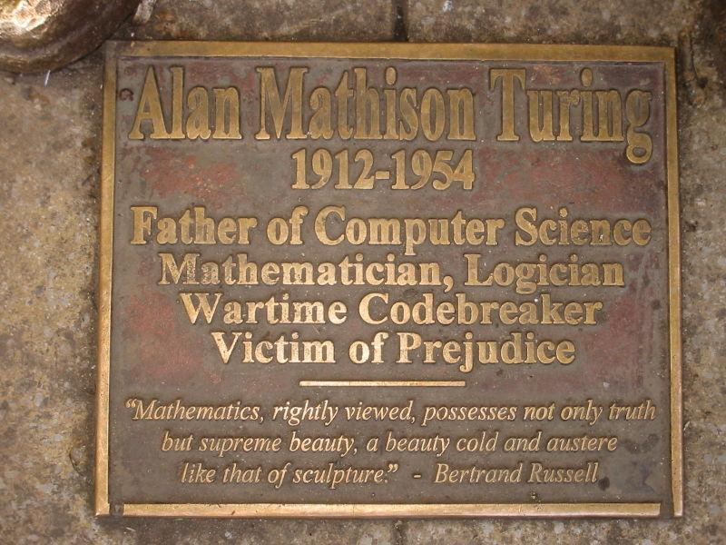 Letter Christopher Alan Turing