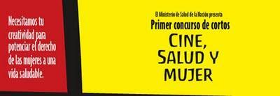 """Concurso de cortometrajes """"Cine, Salud y Mujer"""""""