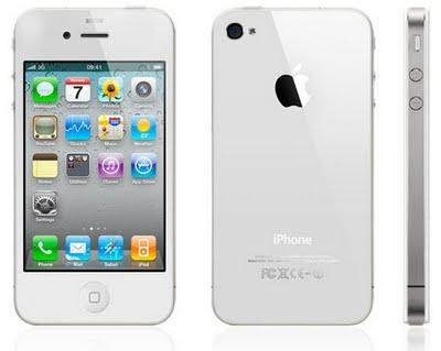 El iPhone 4 blanco ya es una realidad