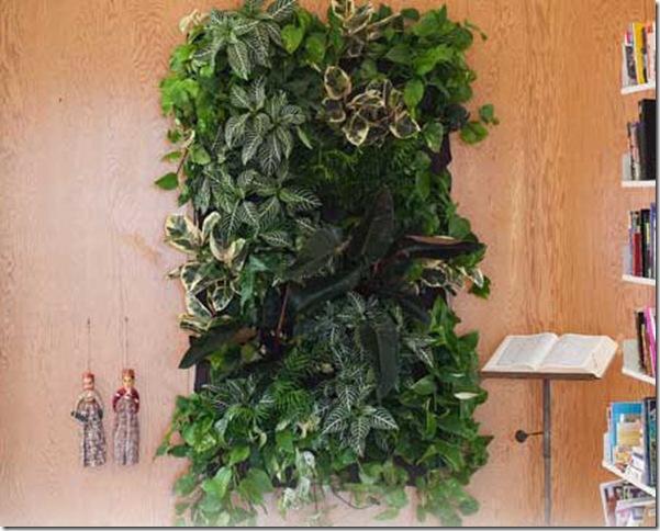 Crecer en los bolsillos otro jard n vertical paperblog for Como se hace un jardin vertical
