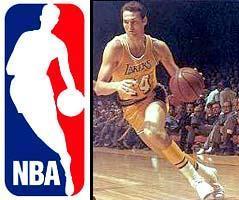 ¿De quién es la silueta que aparece en el logo de la NBA?