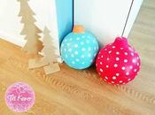 Decoración navideña: Bolas gigantes Navidad