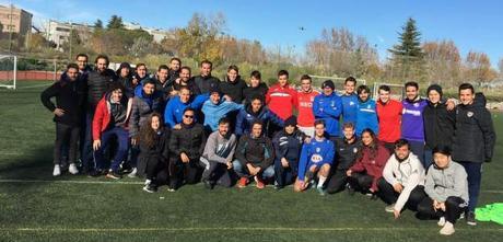 La Escuela de Fútbol Base AFA Angola protagonista en la Universidad Europea Real Madrid