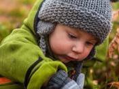 Cómo vestir bebé para frío exagerar