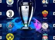 formaron parejas para Octavos final Champions League