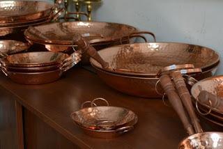 Objetos de cobre
