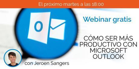 """Webinar """"Cómo ser más productivo con Microsoft Outlook"""""""