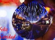 Fotografiando iluminación navideña Madrid través Lensball
