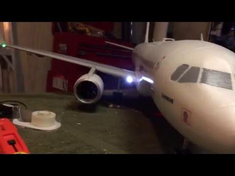 Supreme Hobbies Airbus A320 Lights