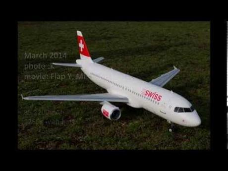 Airbus A320 Supreme Hobbies Swiss Airlines First Flight