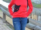 Sudadera gato