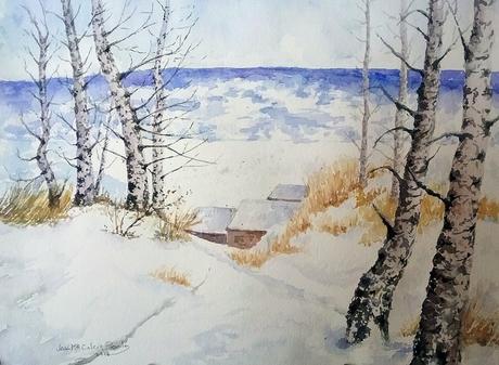 La imagen puede contener: nieve, cielo, árbol, exterior y naturaleza