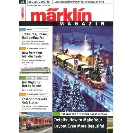Märklin 156038 Magazin 6 2009 Engelska