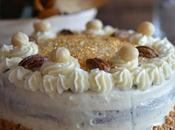 Layer cake calabaza especiada cream cheese