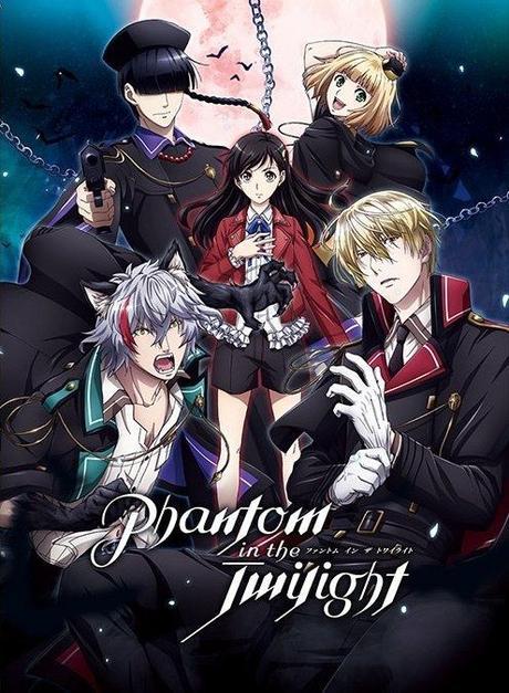 Anime : Phantom in the Twilight, Année : 2018. Projet annoncé par Happy Elements lors de l'Anime Japan 2018. Suite à un étrange incident, Baileu Ton, une jeune étudiante...