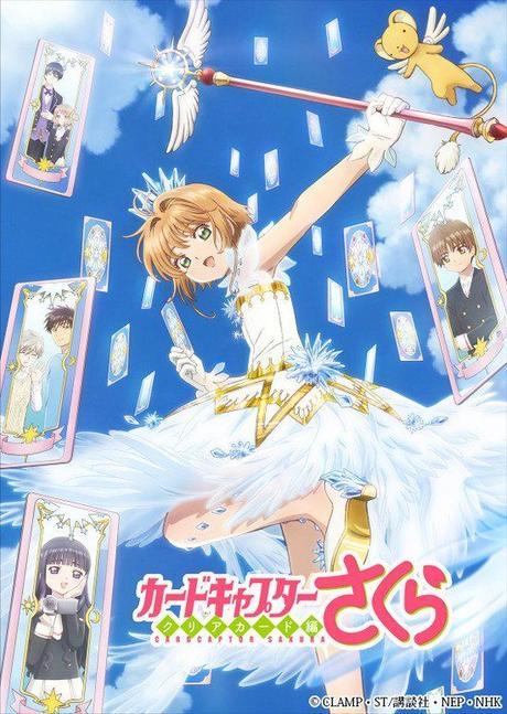 Sakura Card Captors | Novo pôster da adaptação para anime de Clear Card Hen foi revelado - Jovem Nerd