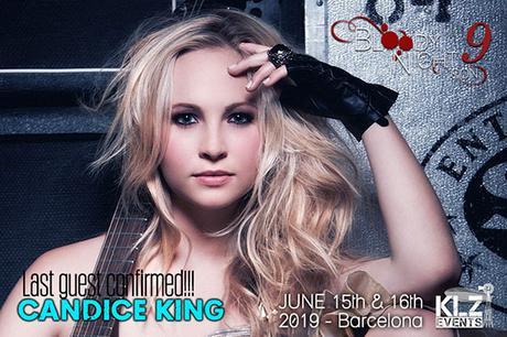 Cuarta invitada de la BloodyNightCon 9: Candice King