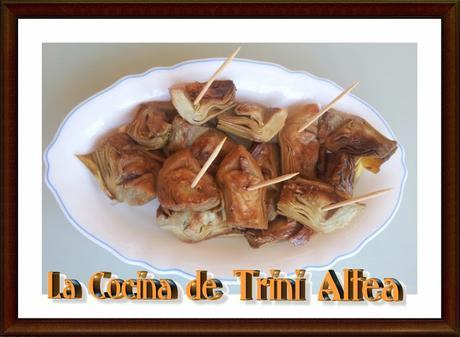 ALCACHOFAS FRITAS APERITIVO
