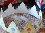 Galette Rois limón. Pastel Reyes francés
