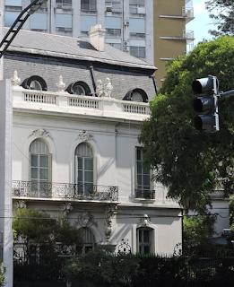 Patrimonio: la embajada italiana, monumento histórico
