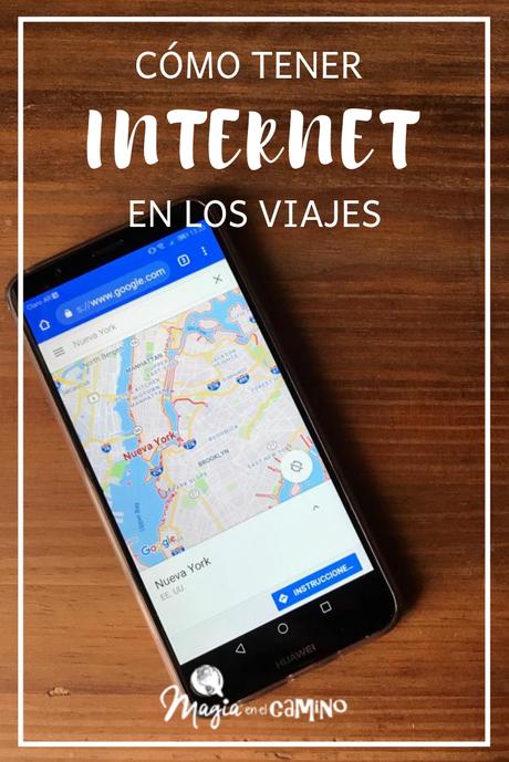 Cómo tener Internet en los viajes