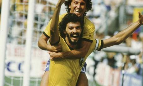 Sócrates y Zico, dos de los mejores jugadores de la historia de Brasil que curiosamente, no ganaron un Mundial.